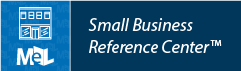 Small Business Reference Center web button example