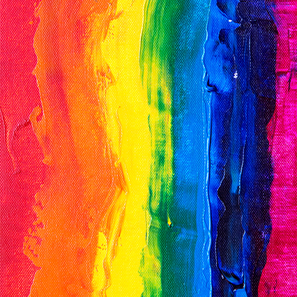 Abstract Pride Rainbow