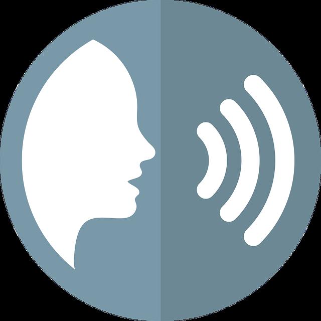 Image of speech icon