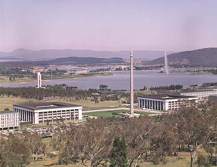 American Memorial, Russell Offices, Canberra