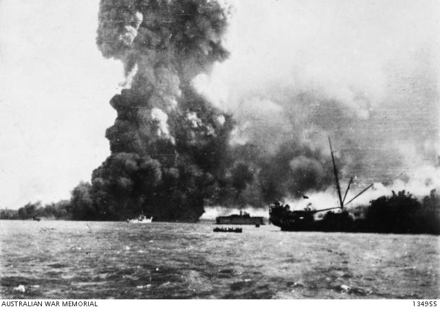 Darwin Bombing raid, 19 February 1942