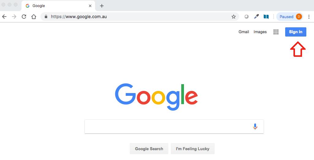 Google Scholar sign in