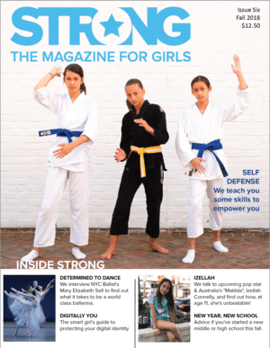 Strong: the magazine for girls