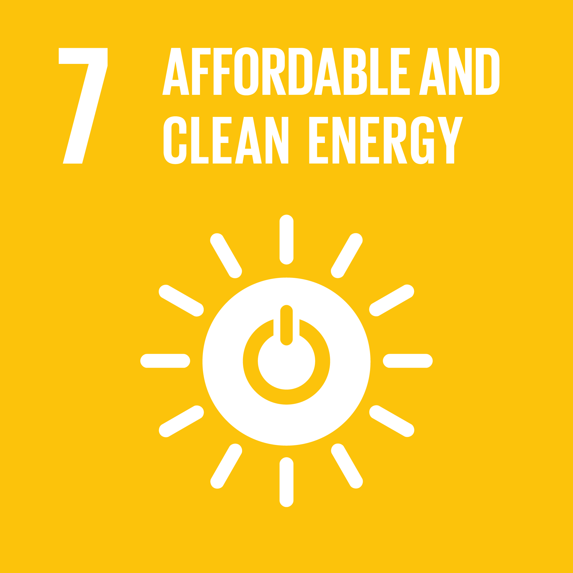 Sustainable Development Goal 7: Energy