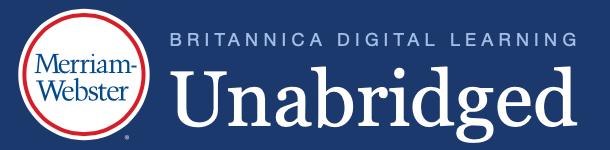 Merriam-Webster Unabridged Dictionary