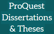 ProQuest Dissertations & Theses Global Full Text