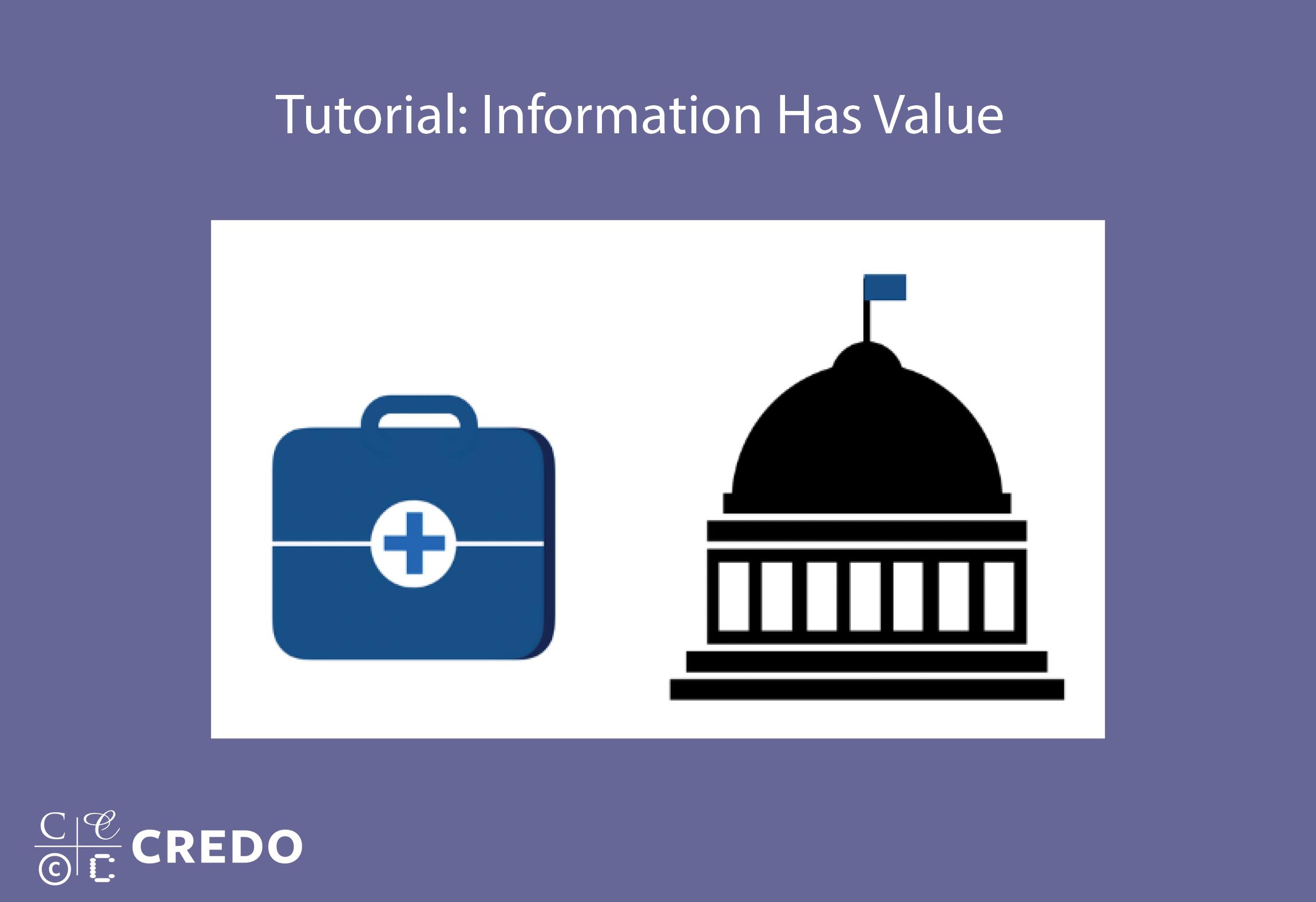 Tutorial: Information Has Value