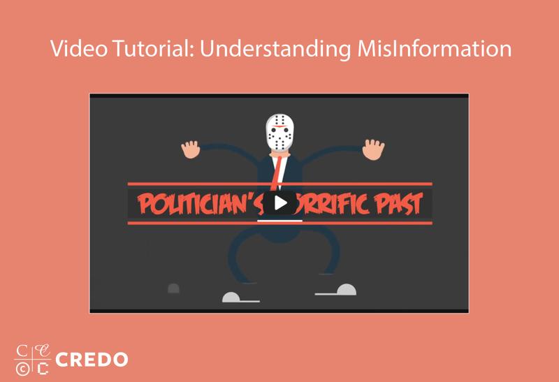 Video Tutorial: Understanding Misinformation