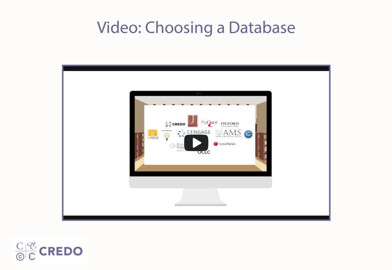 Video: Choosing a Database