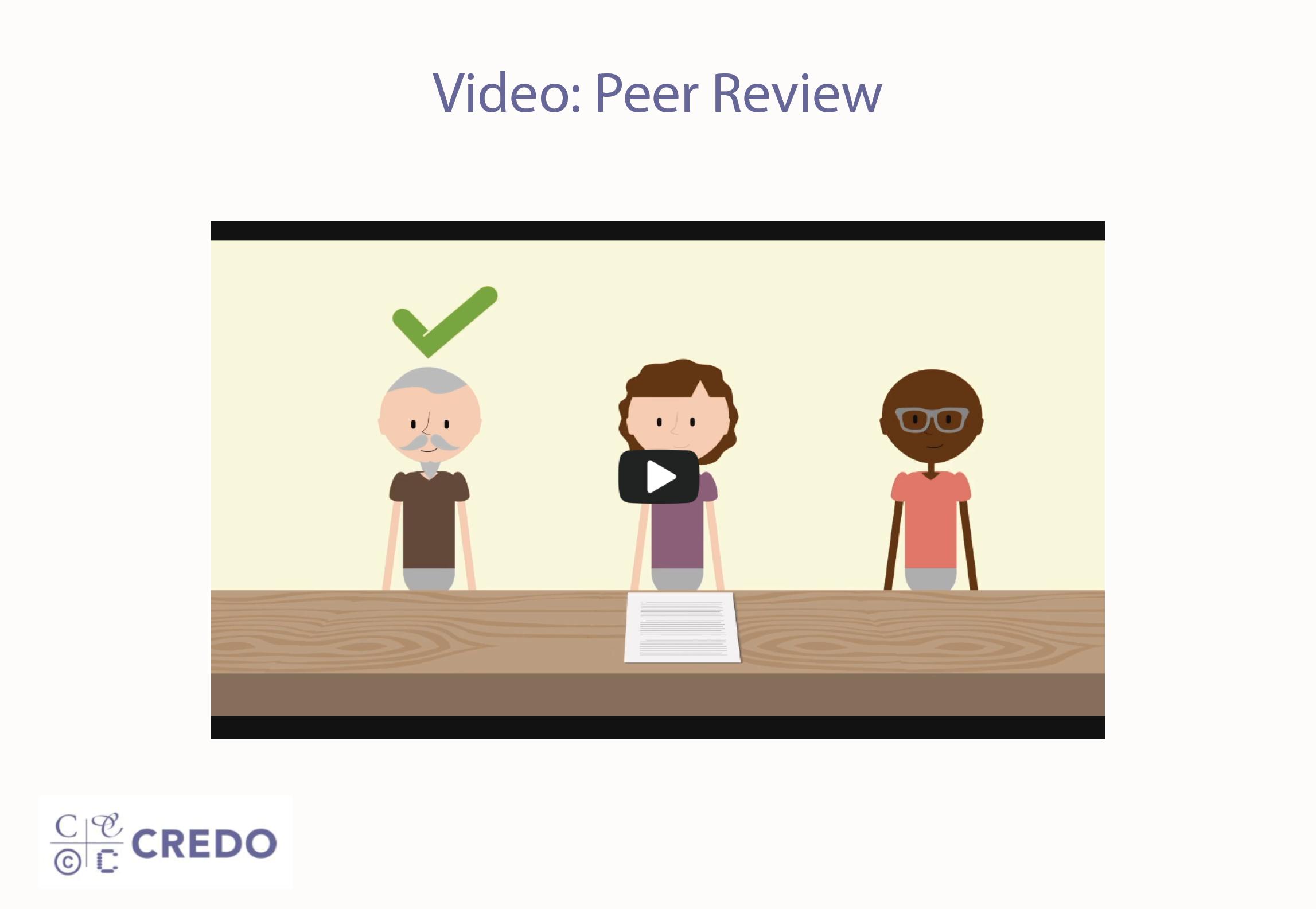 Video: Peer Review