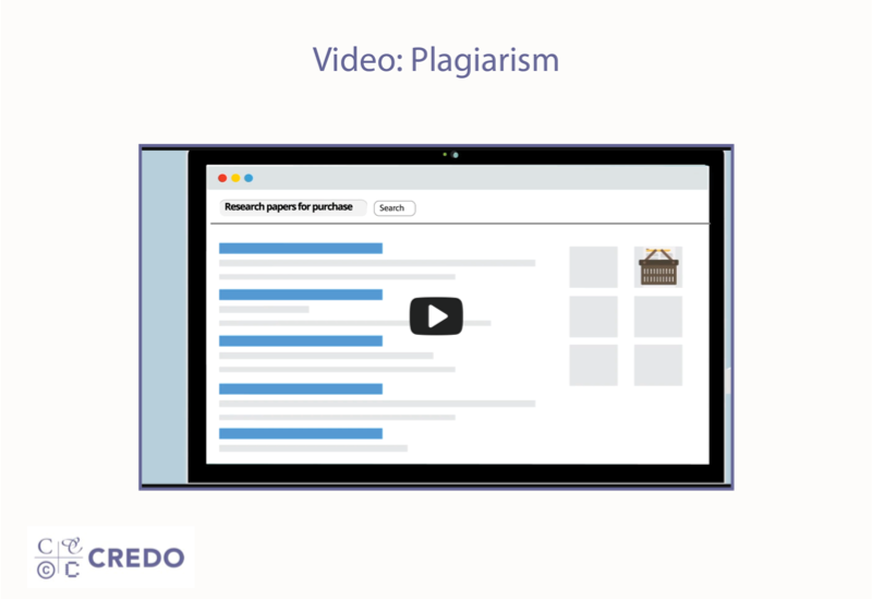 Video: Plagiarism