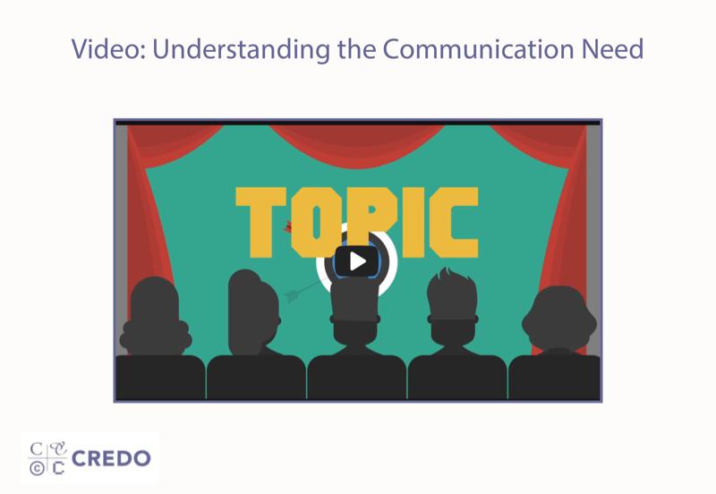 Video: Understanding the Communication Need