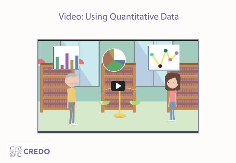 Video: Using Quantitative Data