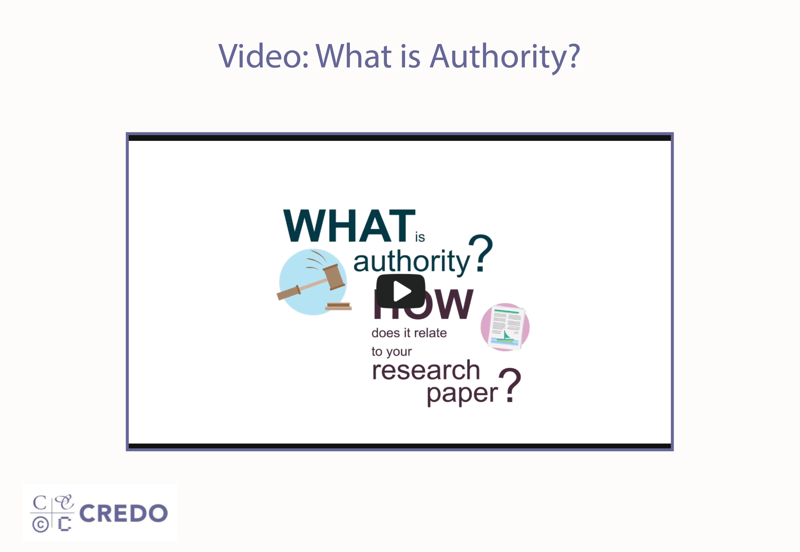 Video: What is Authority?