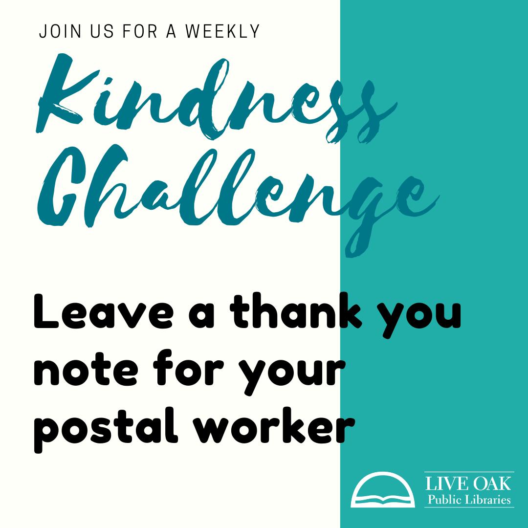 Thank a postal worker