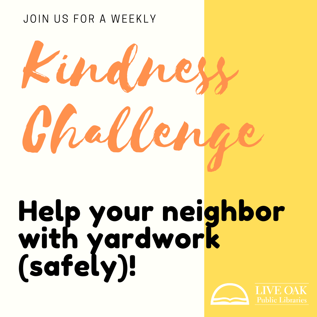 Help a neighbor with yardwork