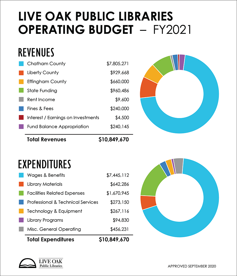 Budget Graphics Fiscal Year 2021