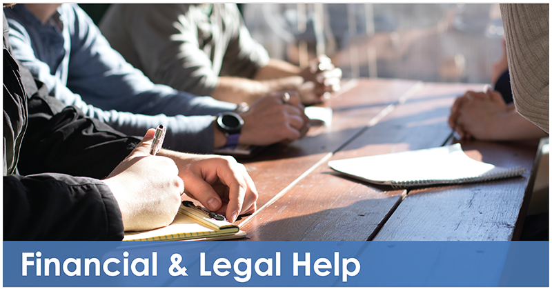 Financial and Legal Help