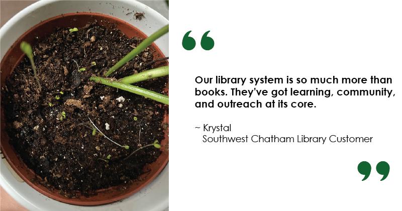 Seed Library Krystal