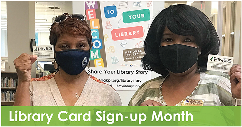 Library Card Sign-up Month