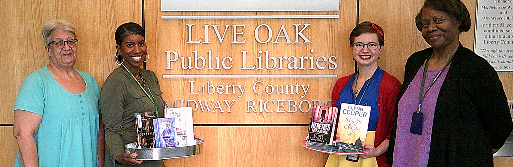 Midway-Riceboro Library staff