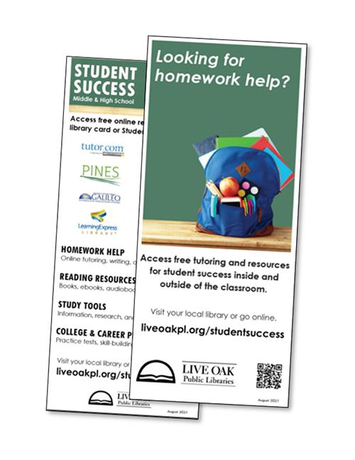 Student Success and Homework Help