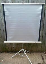Sears Lenticular 50 x 50 projector screen