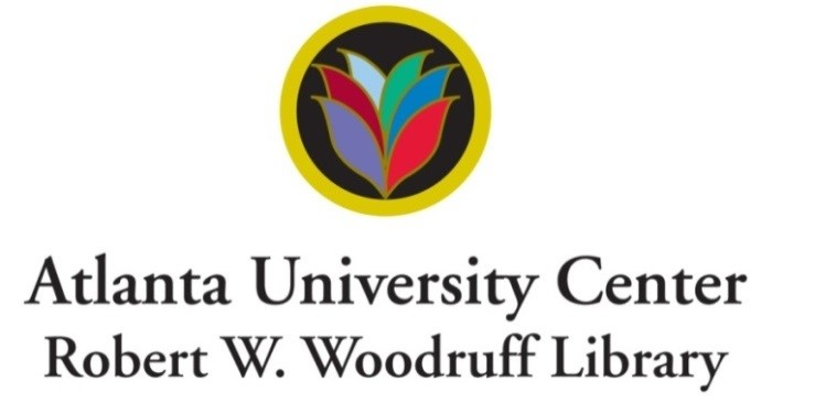 Brand of the Atlanta University Center Robert W. Woodruff Library