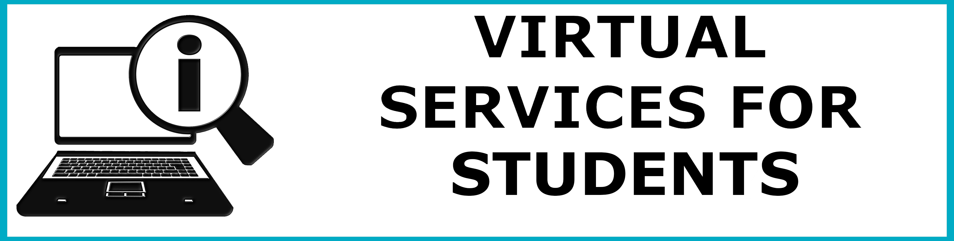 button for virtual services for students