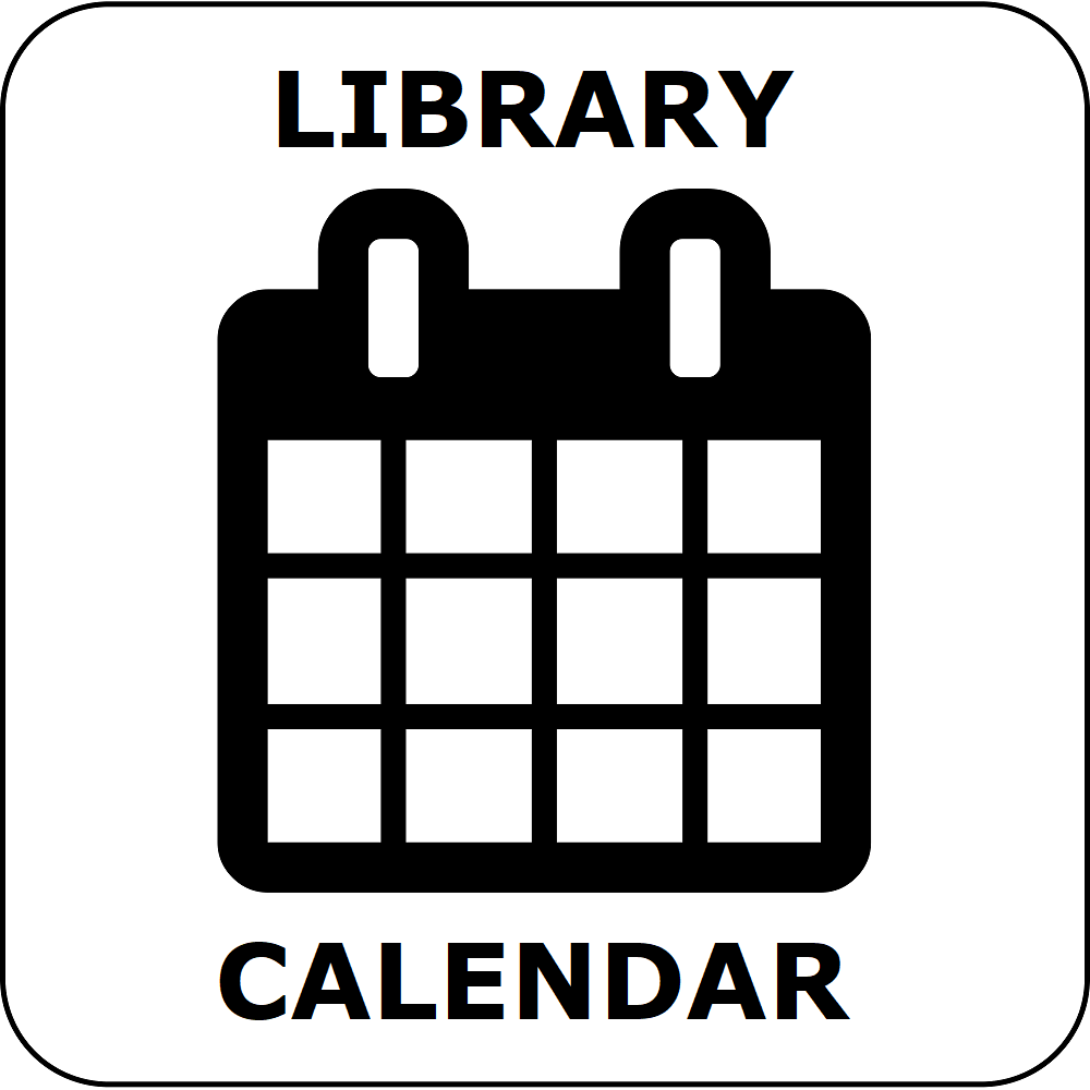 button for the library calendar