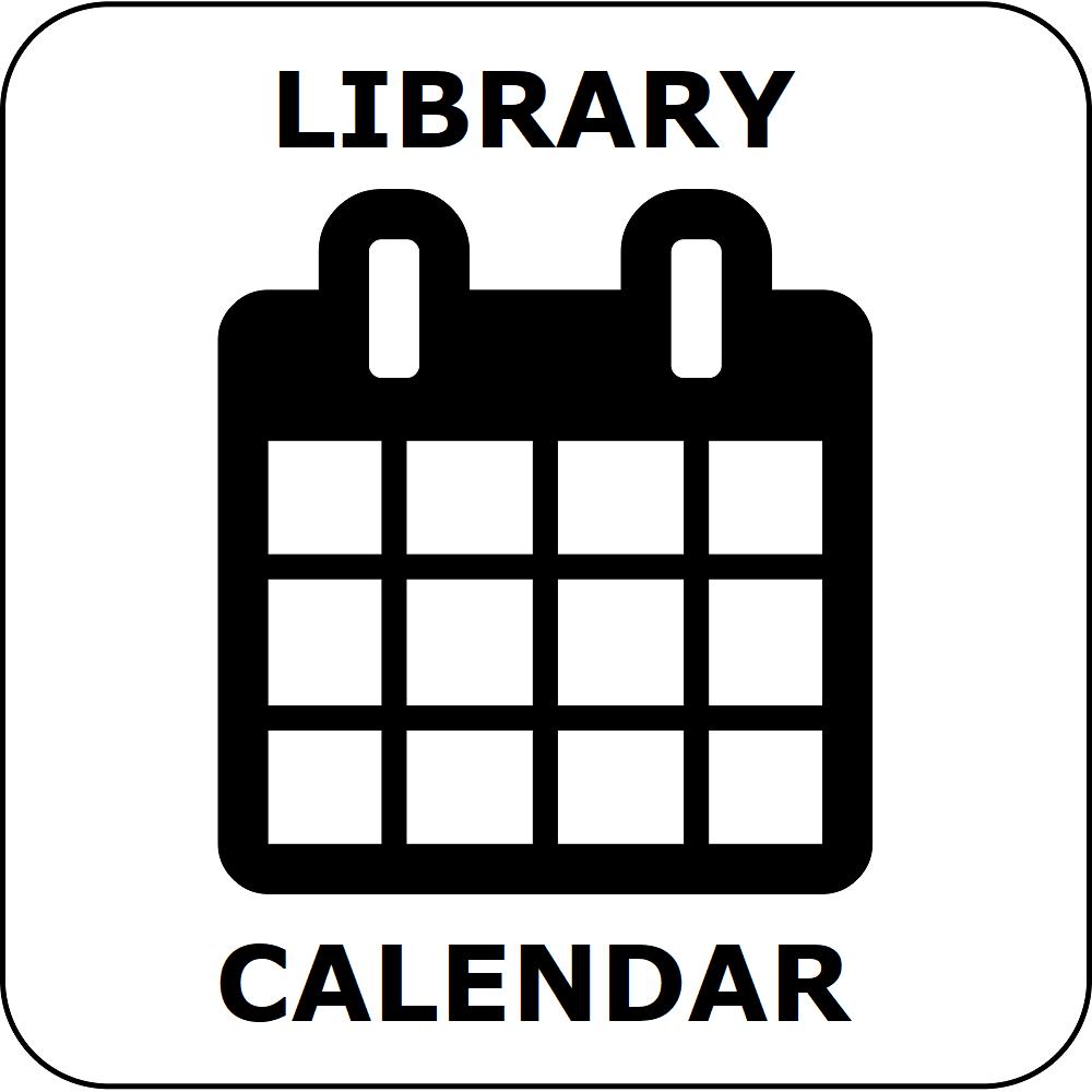 button for the library calendar