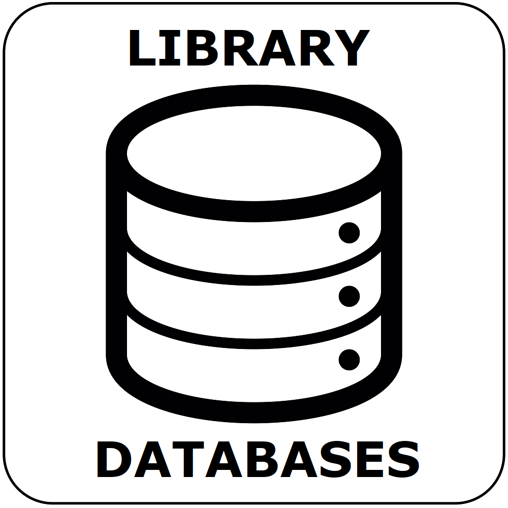 button for the online resources and databases page