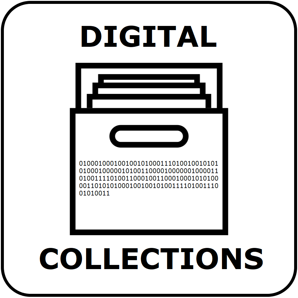 button for the digital collections site