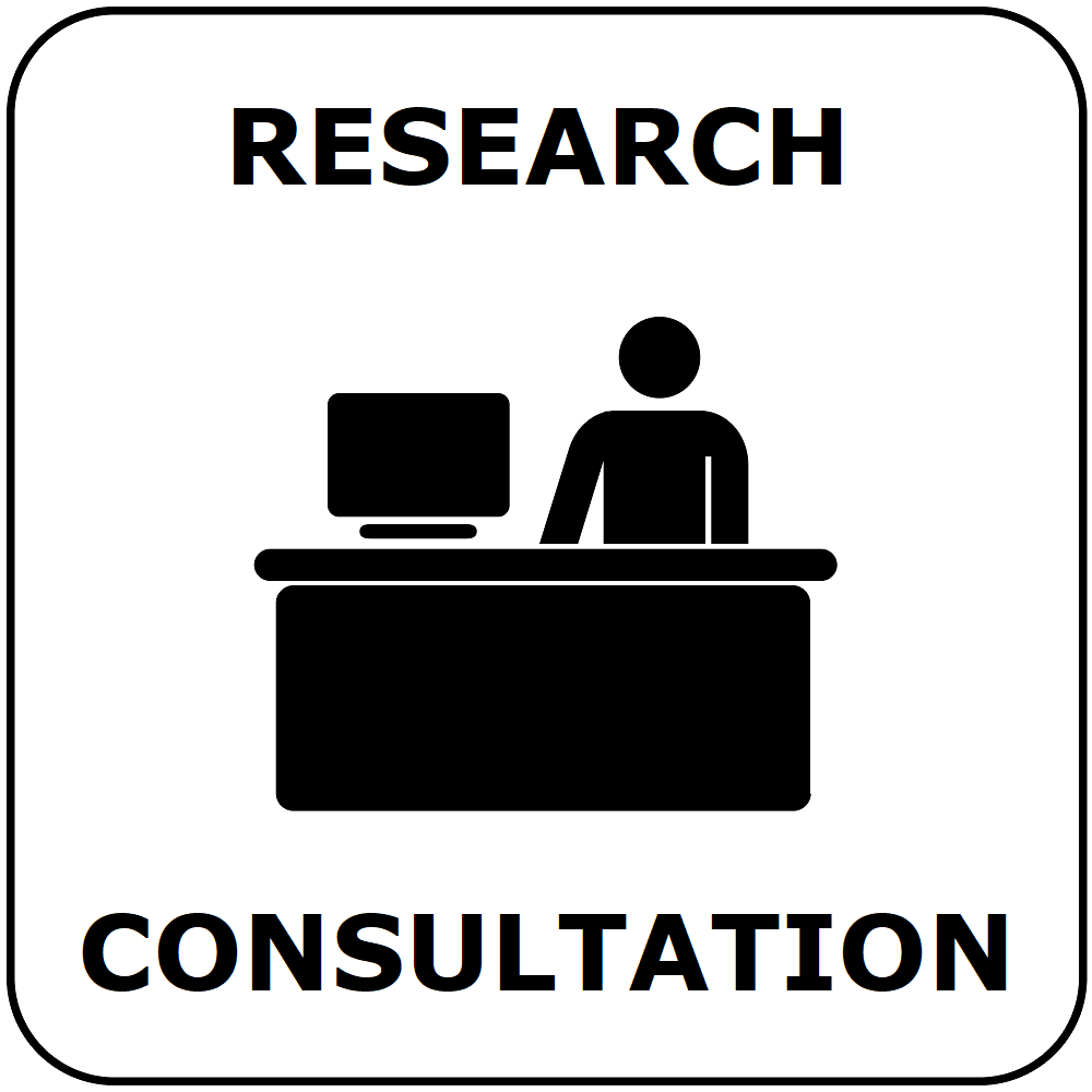 button for research consultation center information