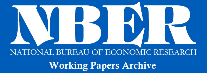 NBER Working Papers archive