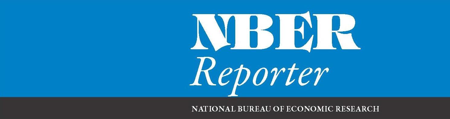 NBER Reporter