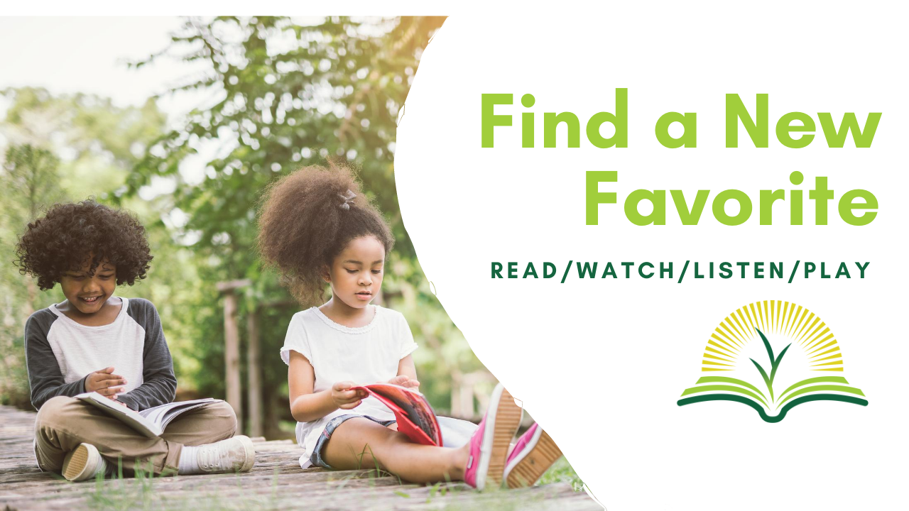 Find a New Favorite: Read/Watch/Listen/Play