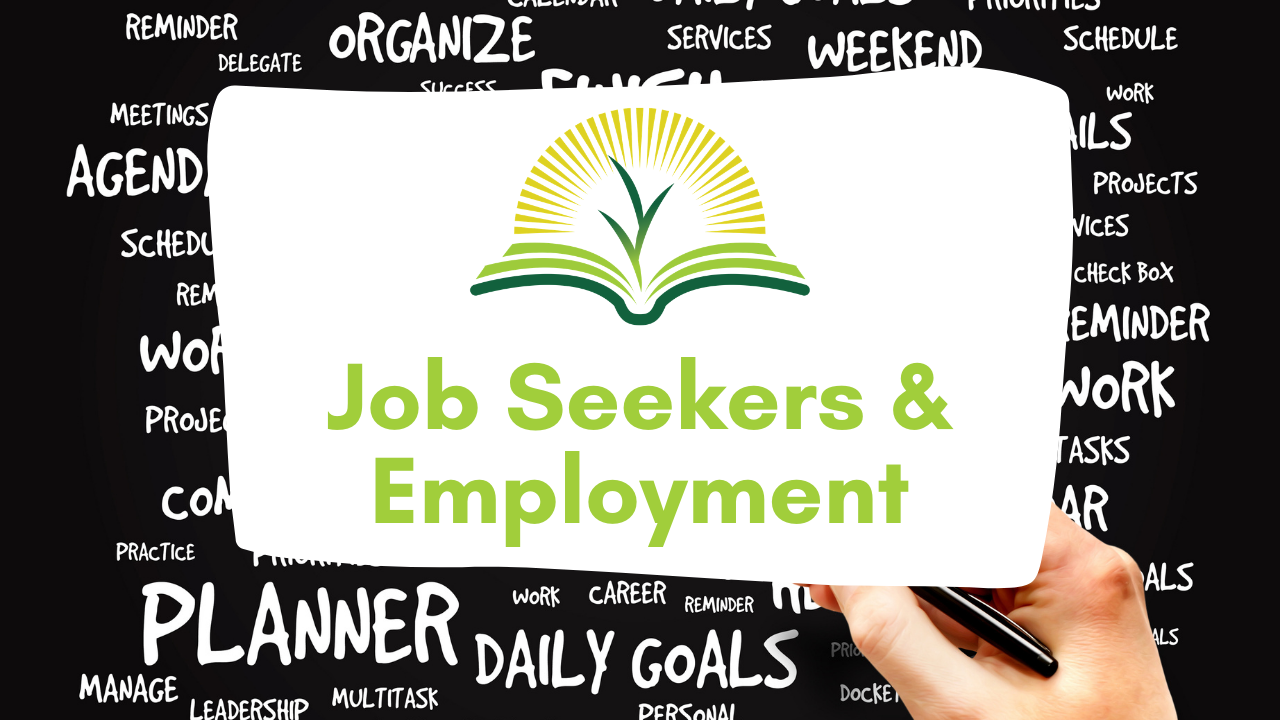 Job seekers and employment image