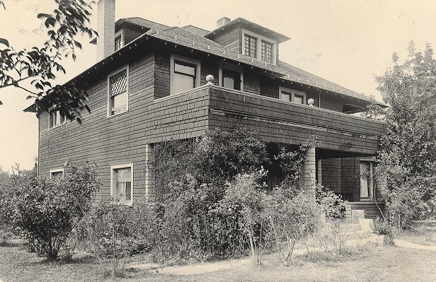 Historic photo of Springfield home
