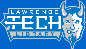 Blue Devil logo and link to library homepage
