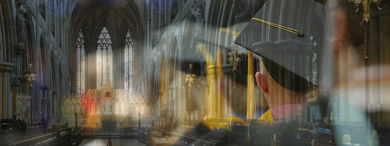 Graduation in a Cathedral