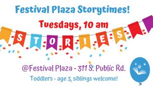 Festival Plaza Storytime
