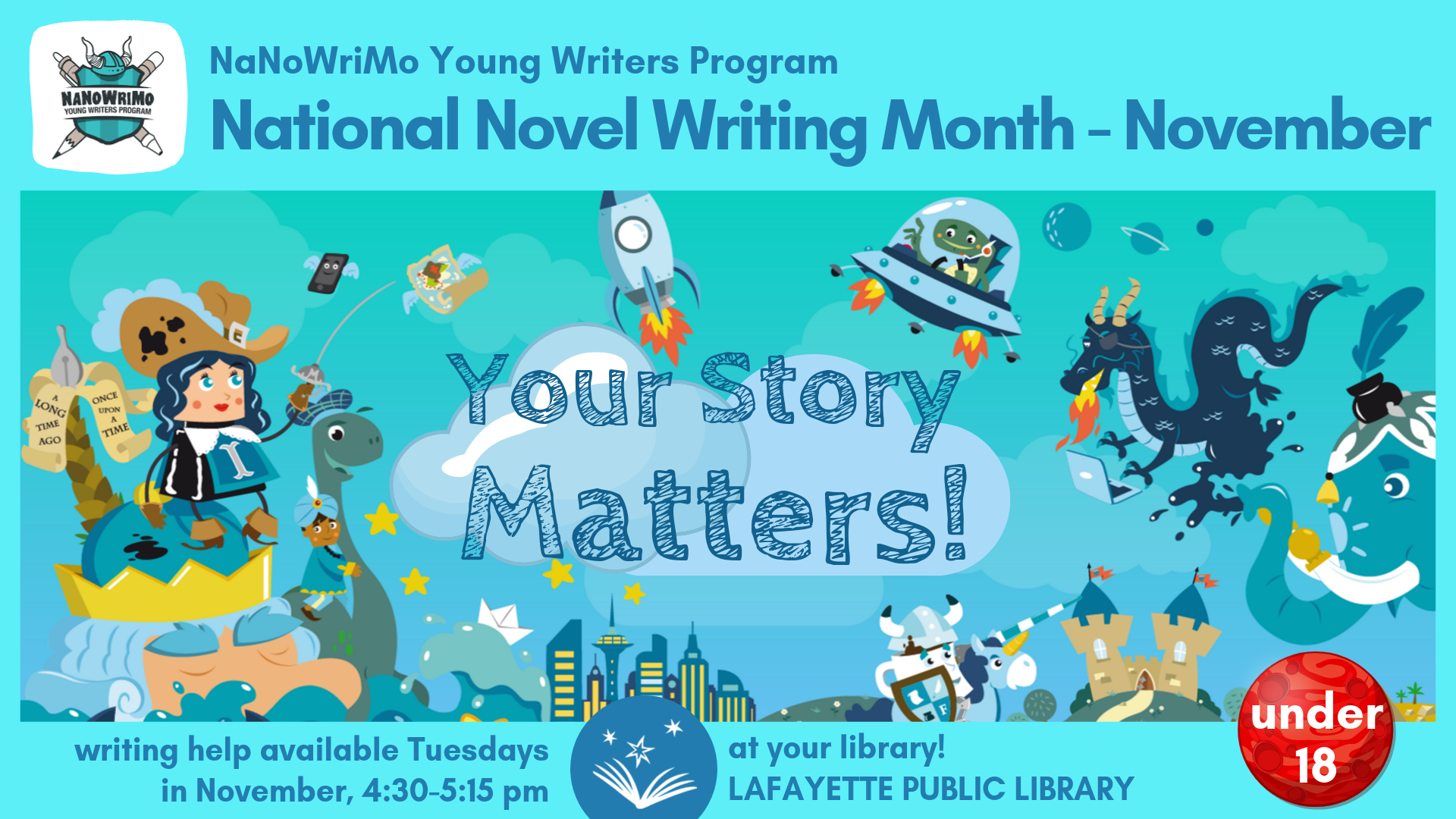 National Novel Writing Month Contest Begins!