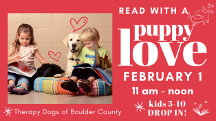 Puppy Love with Therapy Dogs of Boulder County - Drop in