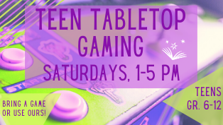 Teen Tabletop Gaming
