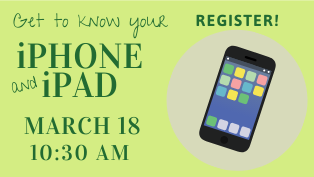 Get to Know Your iPhone and iPad - Register
