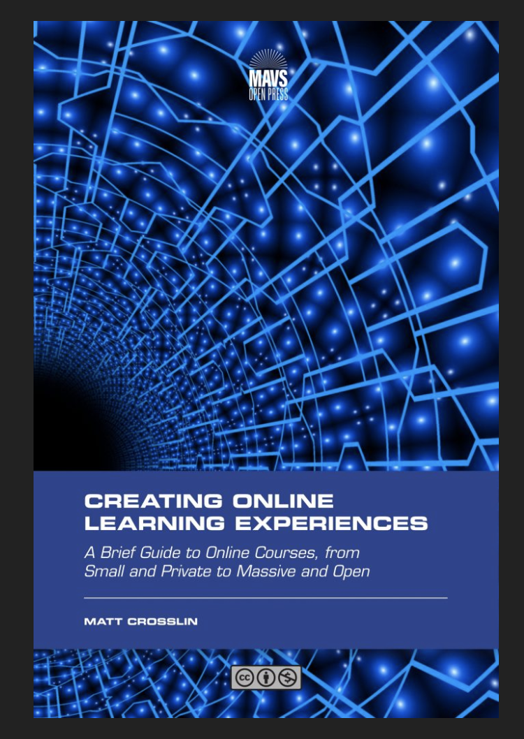 Book cover of Creating Online Learning Experiences