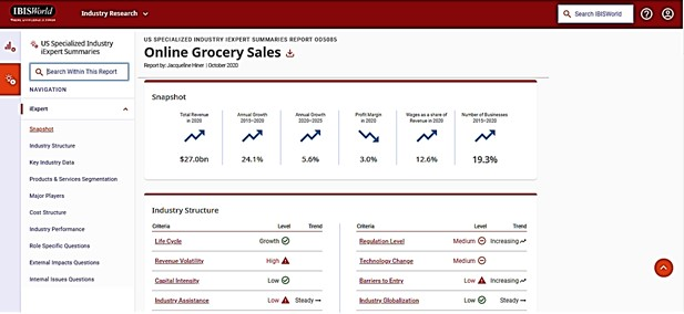 online grocery services