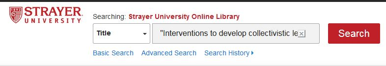 Online library search by title