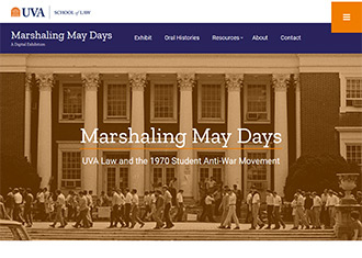 Marshaling May Days website